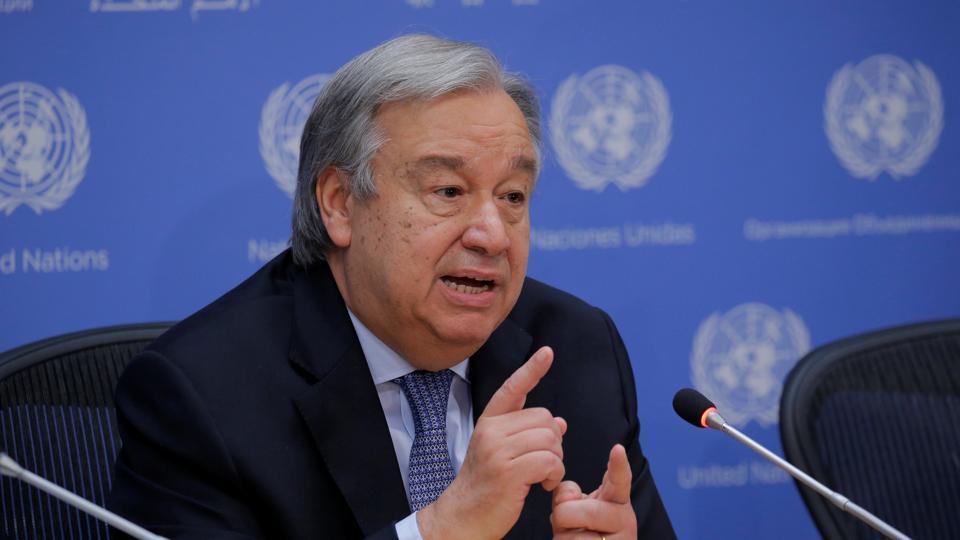 Antonio Guterres,Kashmir,India-Pakistan