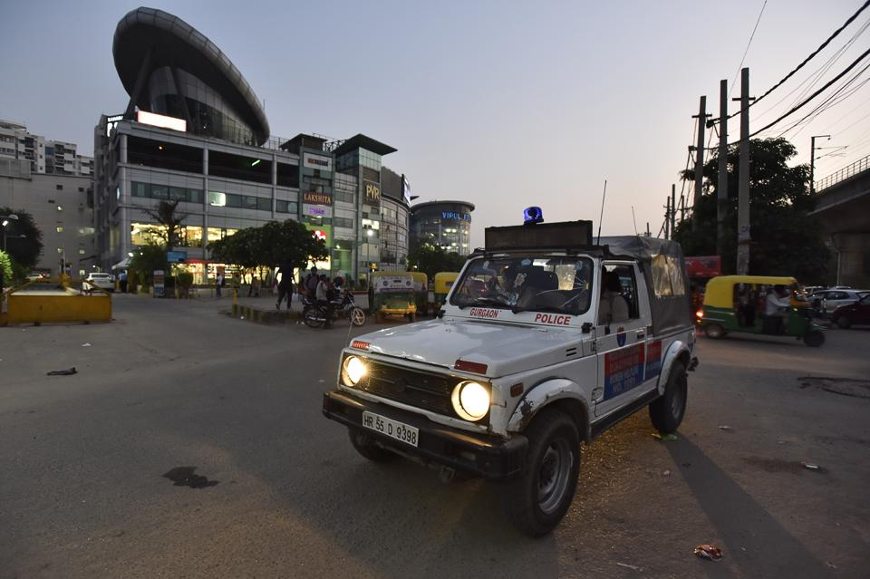 Gurgaon,Gurgaon News,MG Road