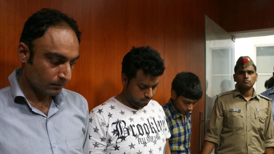 The three men have been identified as Rahul Singhania, 27, Rajkumar, 21, and Tejpal, 31, all residents of Delhi.