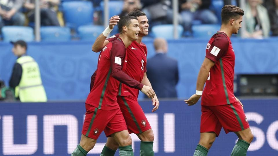 Cristiano Ronaldo has scored for Portugal in their FIFA Confederations Cup 2017 Group A match against New Zealand. Catch highlights of New Zealand vs Portugal here.