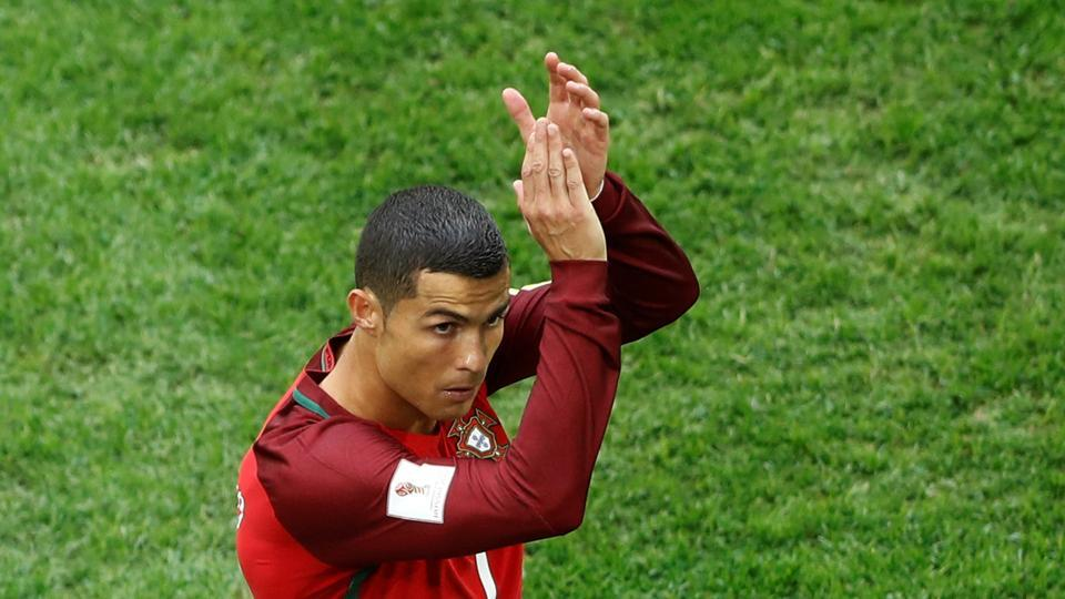 Cristiano Ronaldo scored his 75th international goal as Portugal defeated New Zealand in the FIFA Confederations Cup inSt. Petersburg on Saturday.