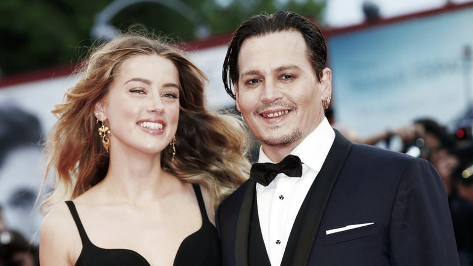 Johnny Depp and Amber Heard were married for two years.