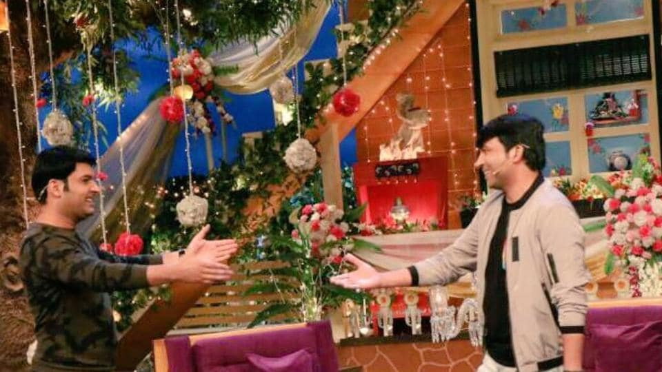 Kapil welcomed his old buddy with open arms.