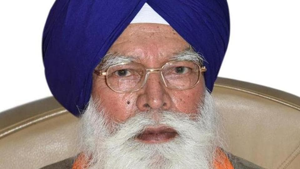 Shiromani Gurdwara Parbandhak Committee chief Kirpal Singh Badungar