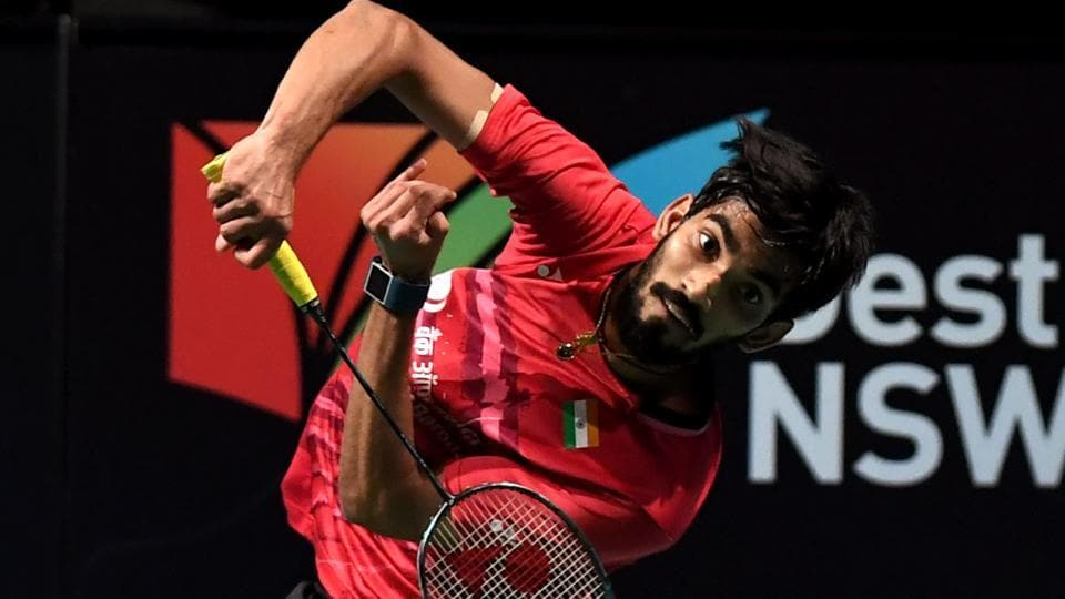 Srikanth had led 11-9 at the break in the second game. (AFP)