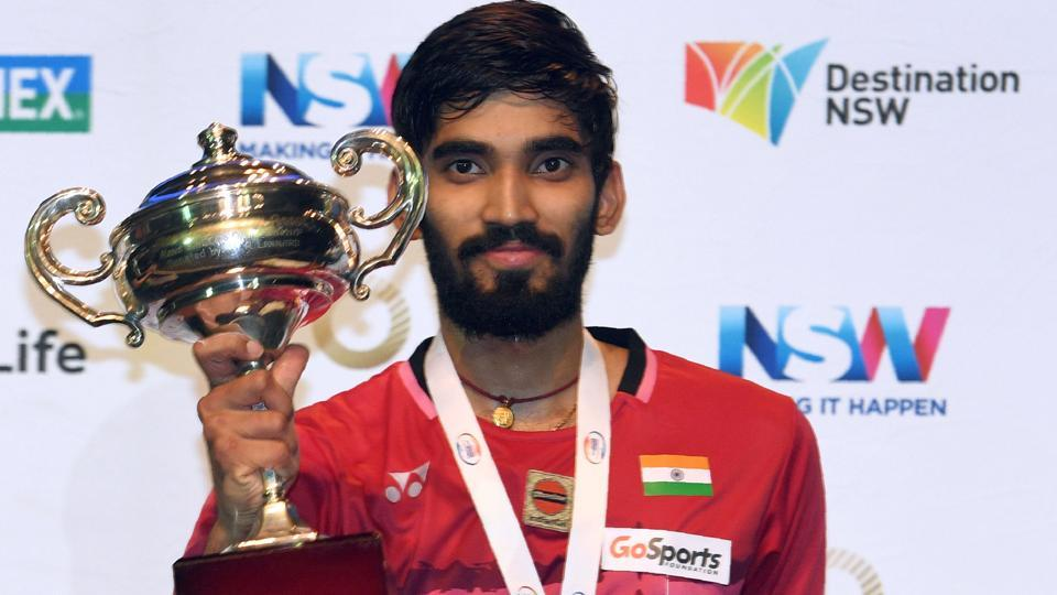 This is Srikanth's second consecutive Superseries title win, having won the Indonesia Super Series Premier last week. (AFP)