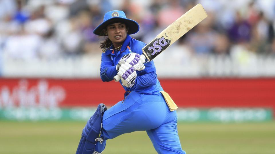 India's Mithali Raj during the ICC Women's World Cup match against England on Saturday.