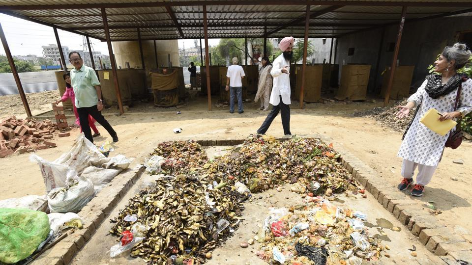 Among the issues bothering the residents are open dumping of waste at the compost plants, mixed waste disposal and incorrect composting procedures