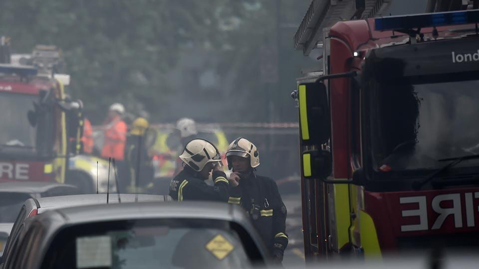 London fire,UK,Britain
