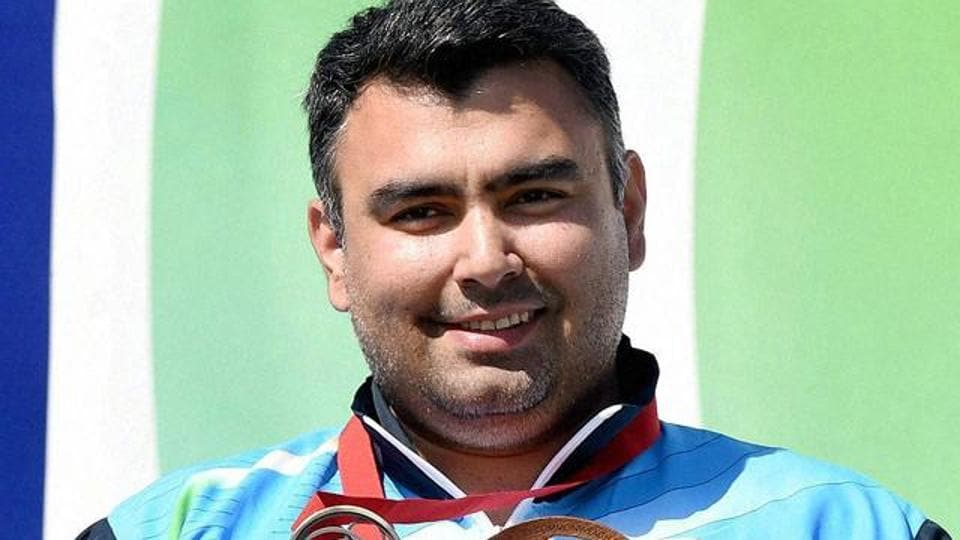Gagan Narang won a bronze medal at the 2012 London Olympics in the 10m air rifle event.