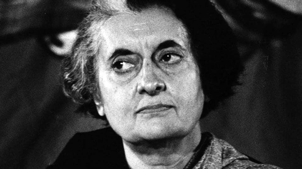 File photo of former prime minister Indira Gandhi.