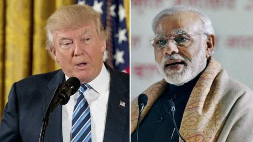 Narendra Modi will meet Donald Trump for the first time during his visit to the United States.