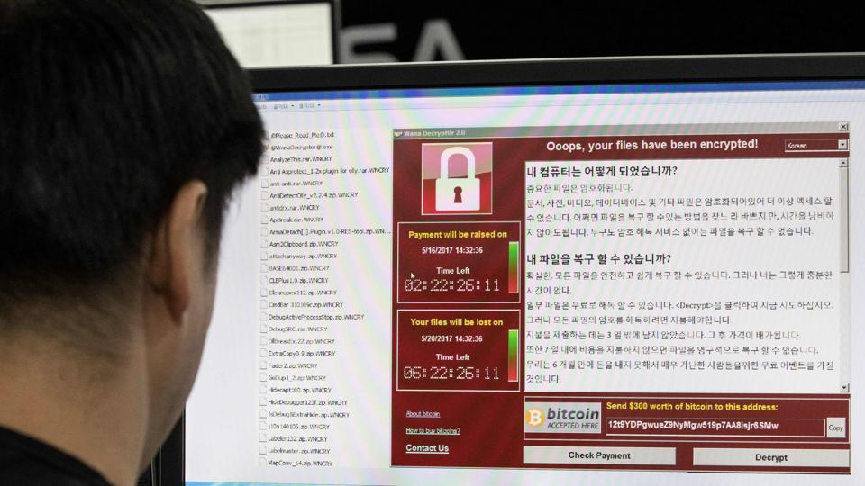 The ransomware cyber attacks had earlier affected parts of Britain's health service.