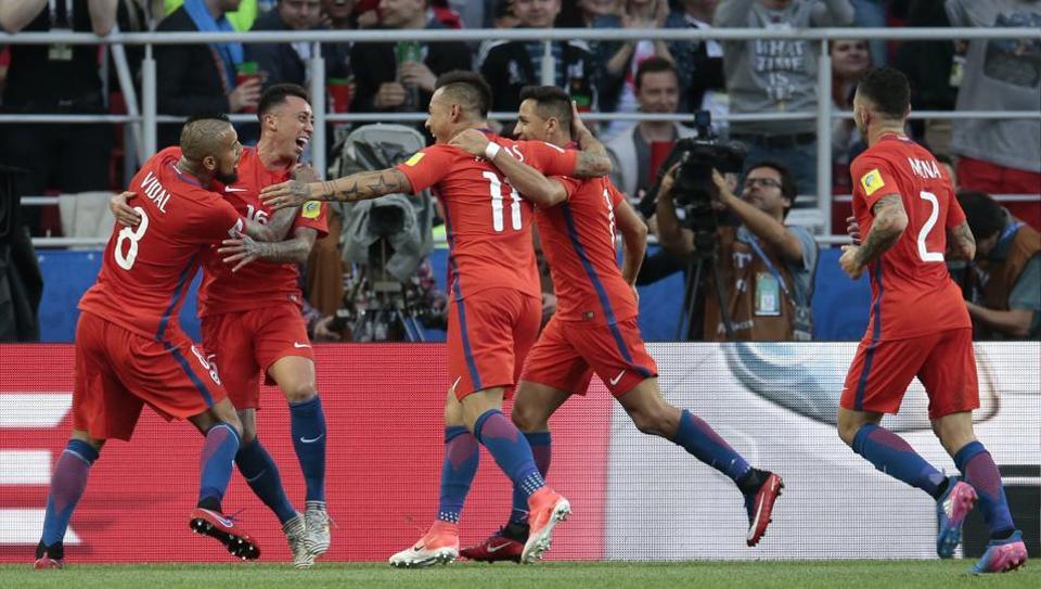 Confederations Cup 2017,FIFA Confederations Cup,Australia vs Chile