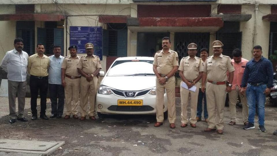 The cab was hired through the mobile application of Ola around 1 am when five people boarded the cab and headed to Pimple Saudagar.