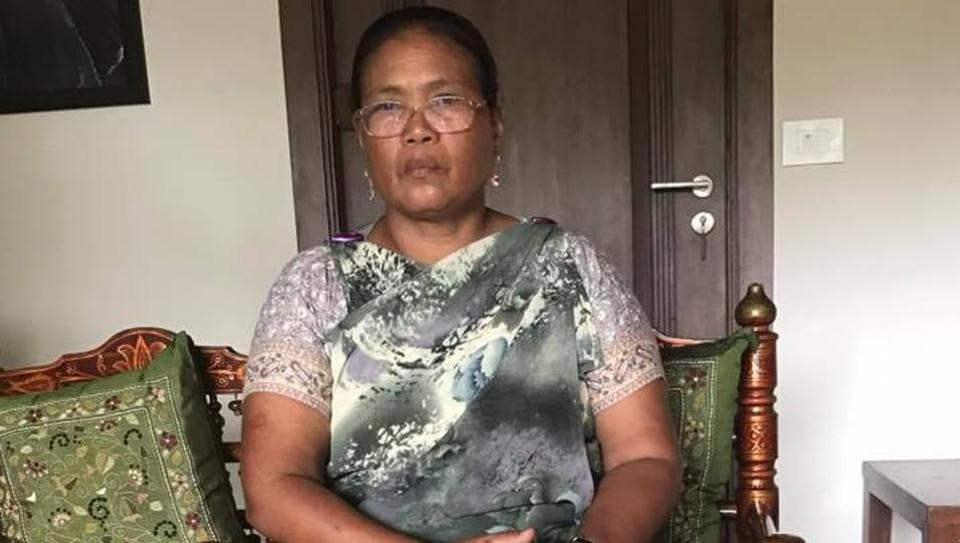 Tailin Lyngdoh was denied entry. The club said it had nothing to do with her jainsem, a traditional Khasi dress.