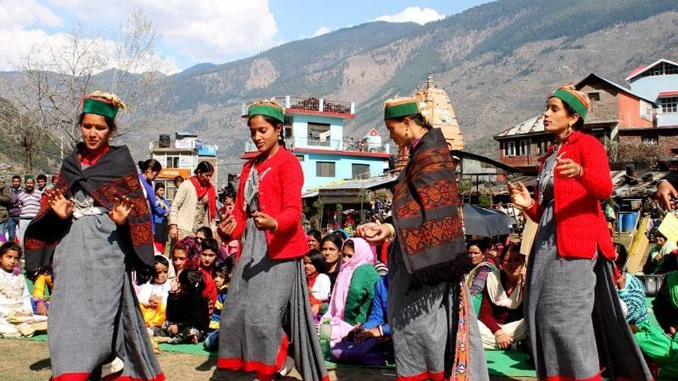 Himachal women,Girls in Himachal,Single identity of Himachal women