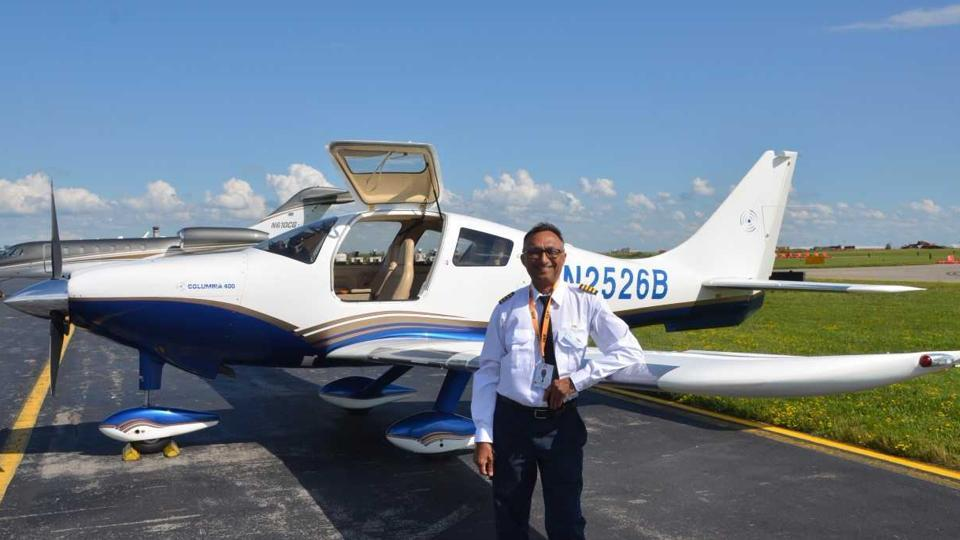 Ravinder K Bansal will take off in his single-engine Cessna 400 from Buffalo Niagara International Airport in the US to raise ₹4.83 crore for a hospital in his hometown of Ambala.
