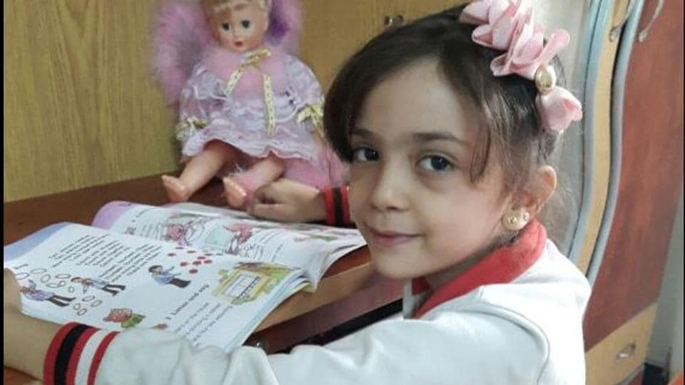 Bana Alabed, the young Syrian girl who drew global attention with her tweets from Aleppo.