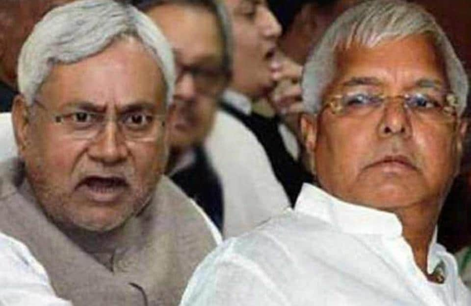 The relations between the grand alliance's top leaders, Nitish Kumar and Lalu Prasad, have