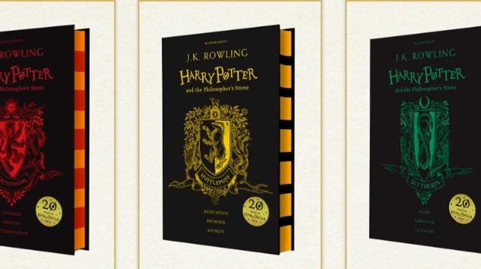 Potterheads can now grab a copy of the book according to their favourite Hogwarts house.