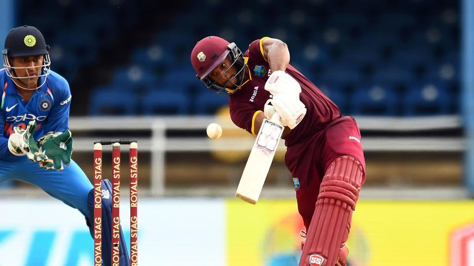 West Indies stuttered in their chase and they never got going in the middle overs. (AFP)