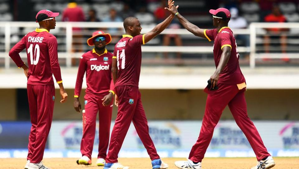 West Indies lost the second ODI of the five-match series against India on Sunday.