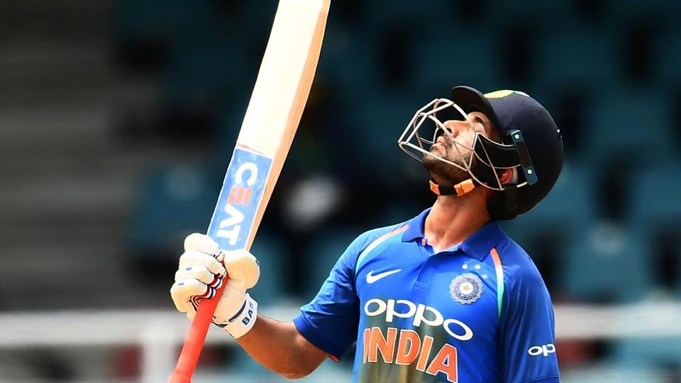 Ajinkya Rahane scored his third century for India against West Indies in the second ODI of a five-match series.