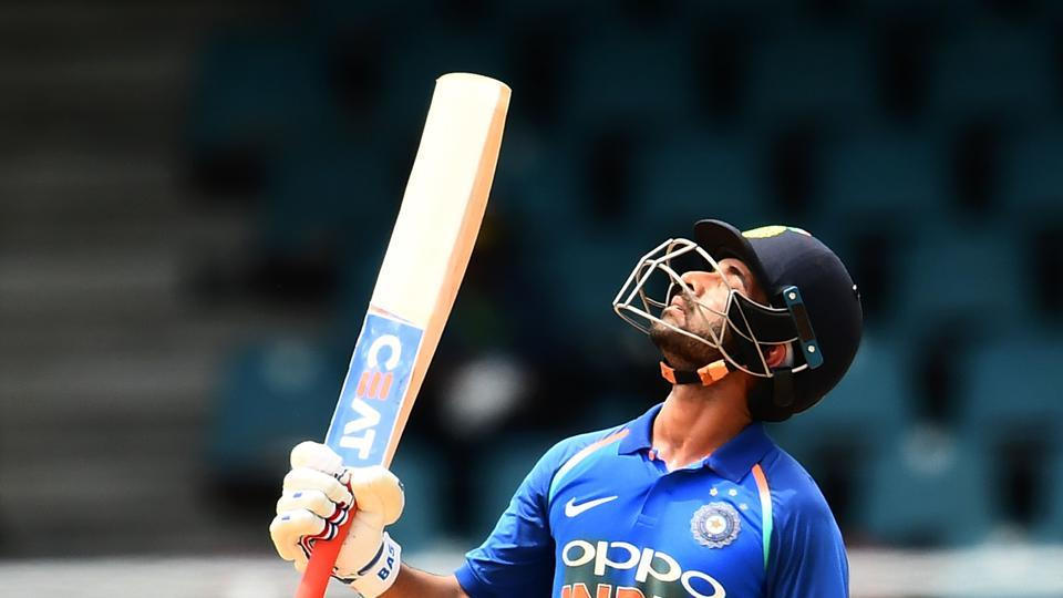 Ajinkya Rahane notched up his third century as he put India on course for a big total. (AFP)