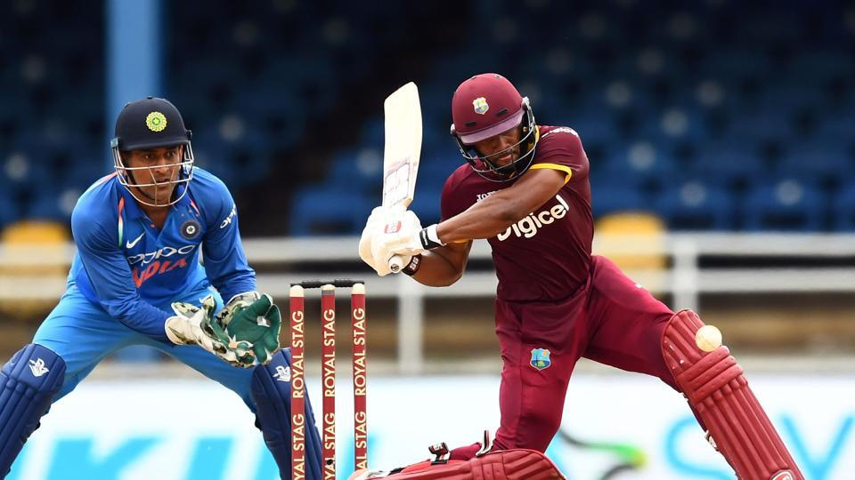 Shai Hope put on a good show and he kept West Indies in the hunt with an attacking 81, which included five fours and three sixes. (AFP)