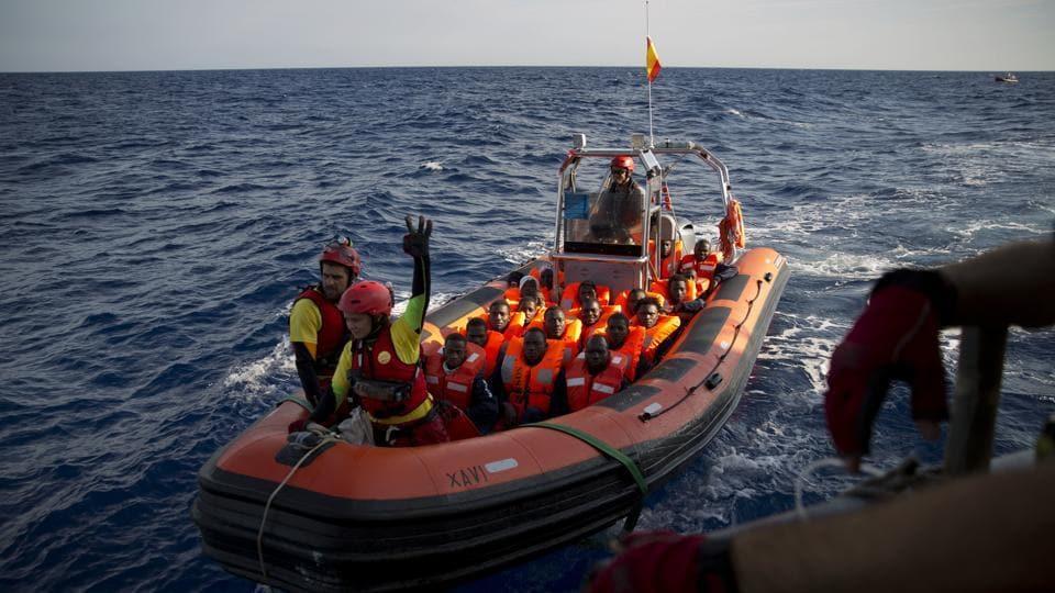 Migrant crisis,Libya,Europe migrants