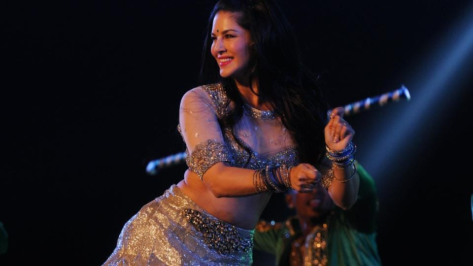 Sunny Leone performing during the Mr and Miss attitude 2017 competition at Morahbadi Ground in Ranchi on May 27, 2017. (Photo: Parwaz Khan/ HT)