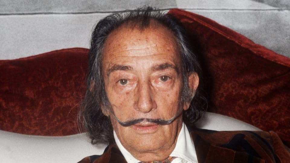 Spanish artist Salvador Dali.