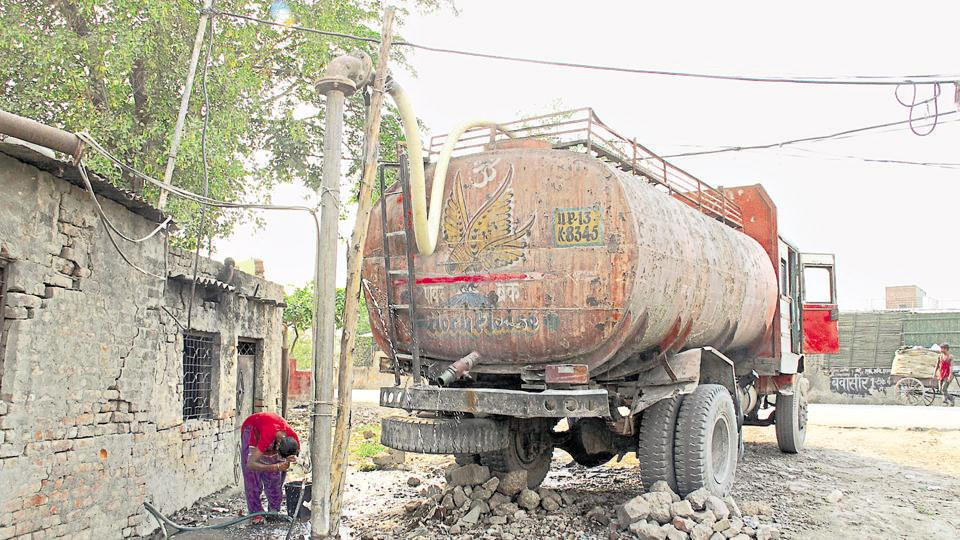 Ghaziabad,groundwater,illegal extraction