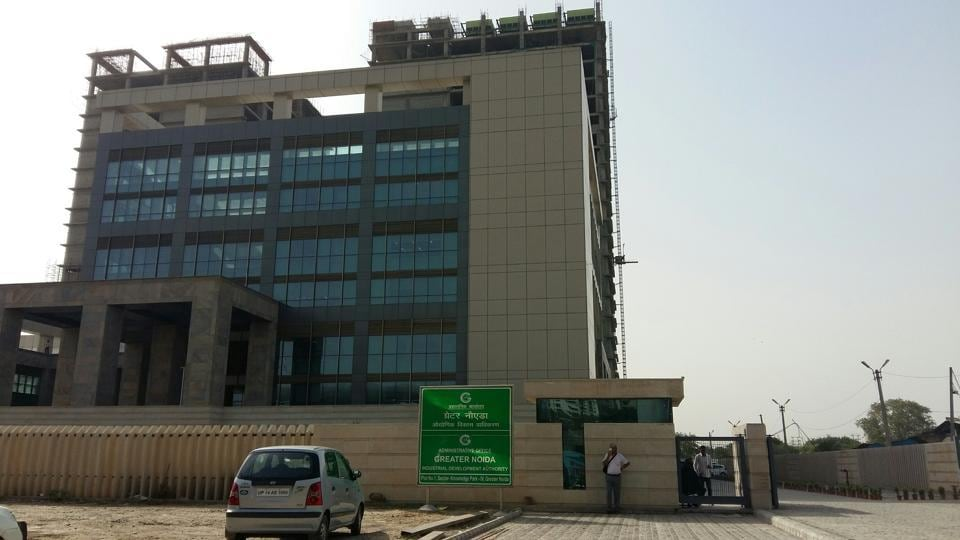 The chairman of the Greater Noida authority also said that this was a serious lapse.