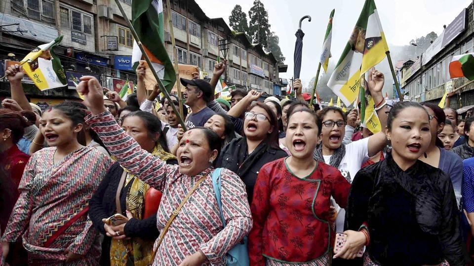 Darjeeling shutdown,Maoist,Netra Bikram Chand