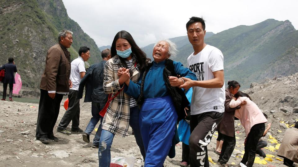 Residents claim that they've always known landslides are a big danger but authorities never offered to help them move. (REUTERS)