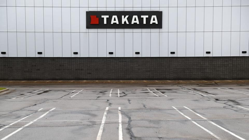 Overwhelmed By Air Bag Troubles, Takata Files For Bankruptcy Protection
