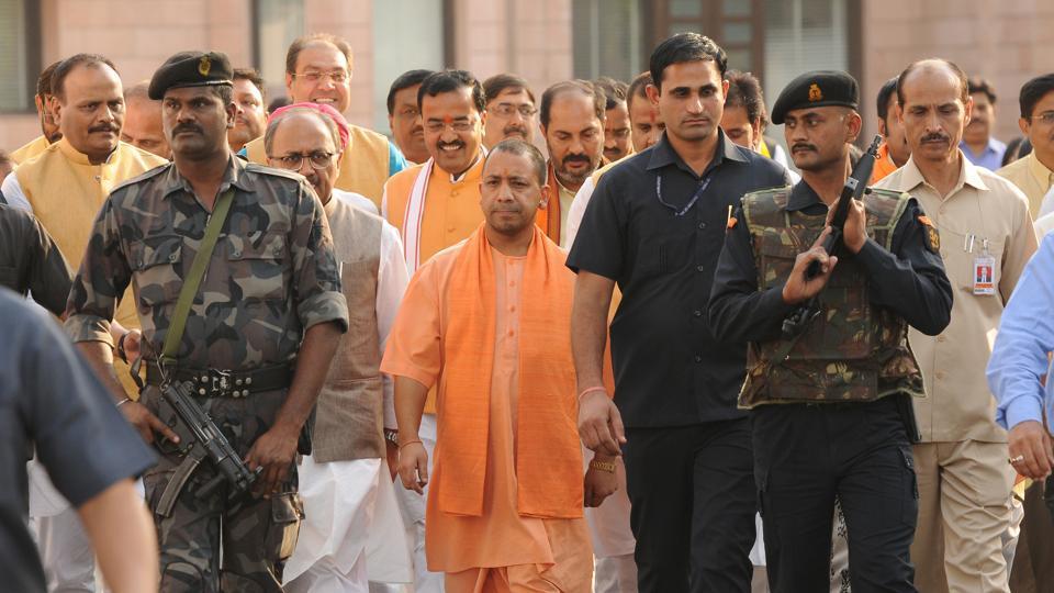 Uttar Pradesh Chief Minister Yogi Adityanath, Lucknow, UP (File Photo)