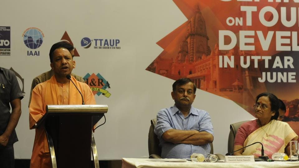 Chief minister Yogi Adityanath instructed the officials of the tourism department to launch an advertising campaign to make people aware of historical and religious places of UP.