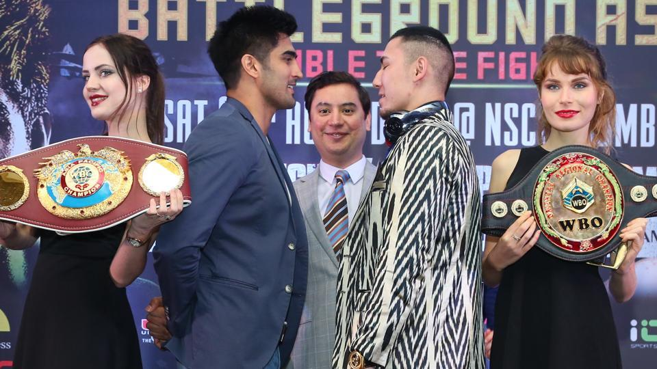 VijenderSingh will face Zulpikar Maimaitiali in the bout slated for August 5.