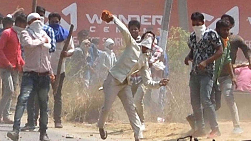 Saharanpur violence.