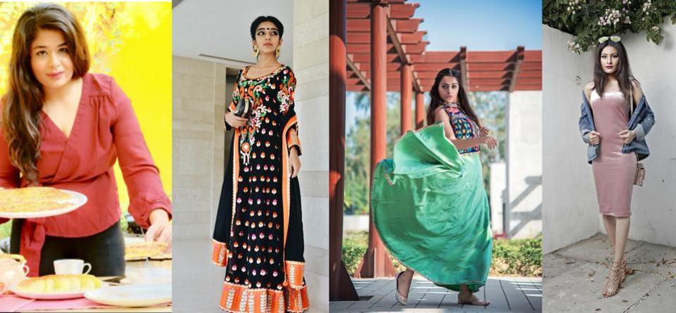 FROMLEFT: Anukriti Jhamb, Rubby Singh, Naaz Arora and Karina Bedi.