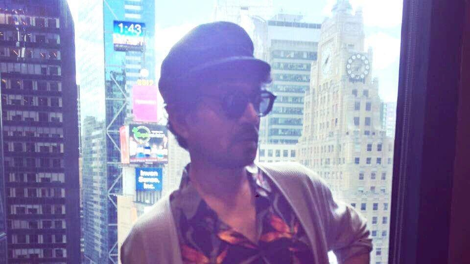 Irrfan Khan is shooting for Puzzle in New York.
