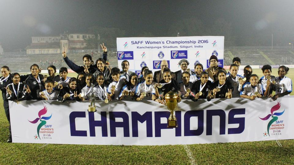 Despite India's victory in the Women's SAFF Championship in January earlier this year, the national team has slipped to 60 in the FIFA world rankings.