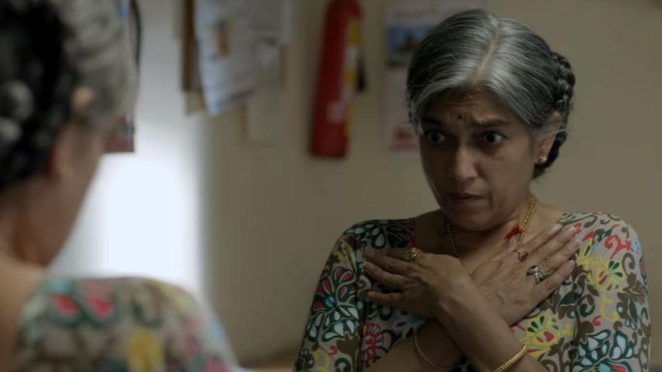 Ratna Pathak Shah in a still from the film.