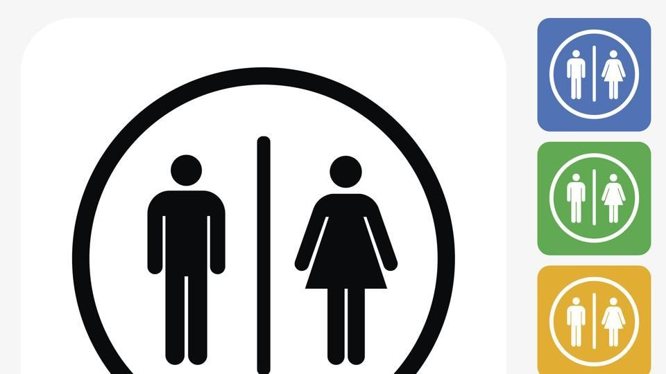 Yale argues that removing gender-specific signs would increase the number of bathrooms open to either gender.