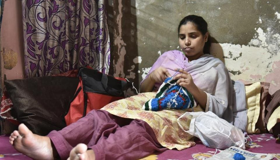 For Savita to be able to walk again on her own, two hip replacement surgeries and a spine correction surgery has to be done.
