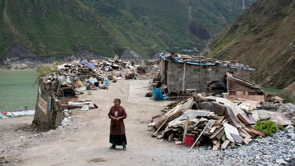 Geologists believe the water pressure exerted by dam reservoirs can trigger earthquakes which some suspect happened in the 2008 Wenchuan quake that claimed 87,000 lives.  (AFP)