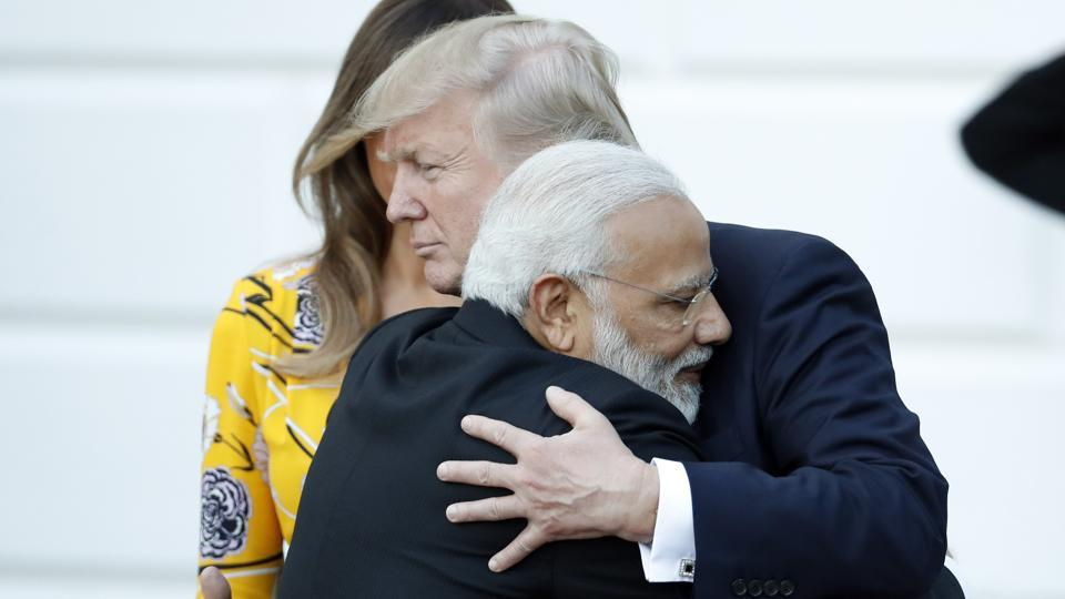 Modi and Trump's White House session promises less pomp than Modi's previous visits to Washington, which included former President Barack Obama taking him to the Martin Luther King Jr. memorial in 2014. (Alex Brandon/AP)